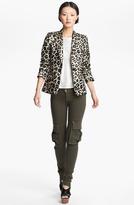 Alice + Olivia 'Elyse' Leopard Print Blazer