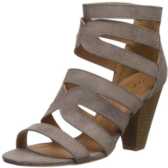 Qupid Women's CHAMBER-26X Heeled Sandal