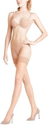 Falke Women's Shelina Decorative Lace 12 DEN Stay Ups - Ultra-Sheer
