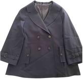 Tonello Blue Silk Jacket for Women