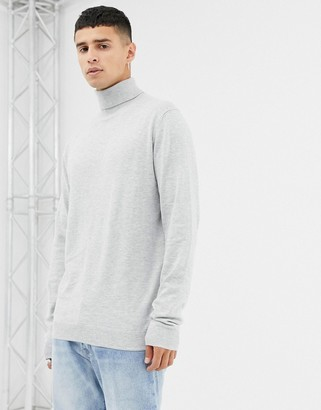 Jack and Jones knitted roll neck
