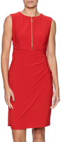 Joseph Ribkoff Red Zipper Dress