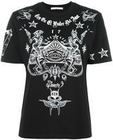 Givenchy tattoo print T-shirt - women - Cotton - M