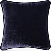 "Tracy Porter Fleur Solid Crushed Velvet 20"" Square Decorative Pillow"