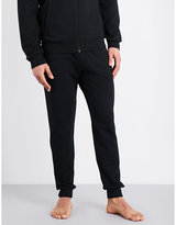 Emporio Armani Drawstring Cotton Jogging Bottoms