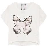 Freddy White Butterfly Tee
