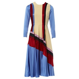 Roksanda Blue Silk Dresses