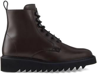 Giuseppe Zanotti Brassline lace-up boots