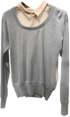 N°21 N21 Grey Cotton Top for Women