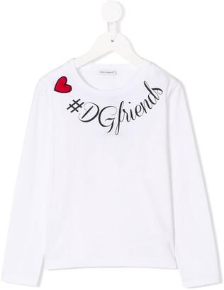 Dolce & Gabbana #DGfriends print top