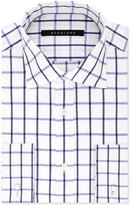Sean John Men's Classic/Regular Fit Purple Check Dress Shirt
