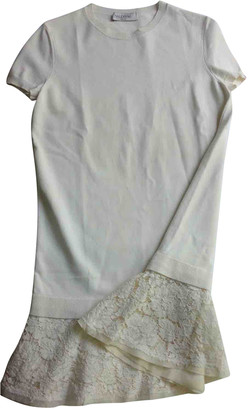 Valentino White Lace Dresses
