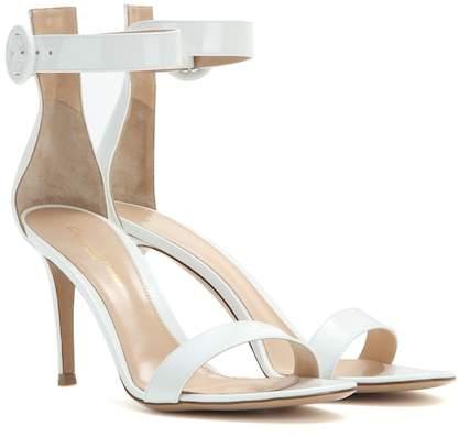 Gianvito Rossi Exclusive to Mytheresa – Portofino patent leather sandals