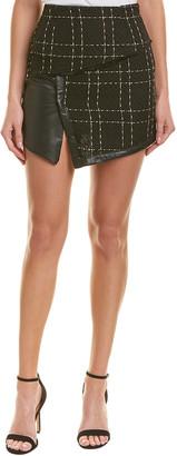 Allison New York Plaid Mini Skirt