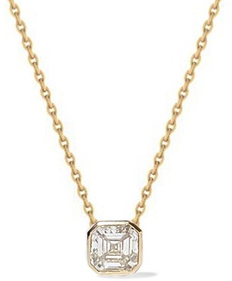 KatKim Asscher Diamond Cosma Necklace