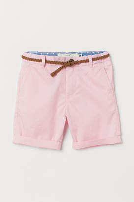 H&M Shorts with a belt