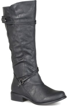 Journee Collection Women's Wide Calf Harley Boot Women's Shoes
