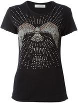 Valentino studded eagle T-shirt - women - Cotton - XS