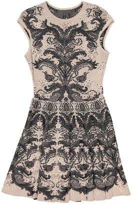 Alexander McQueen Beige Viscose Dresses