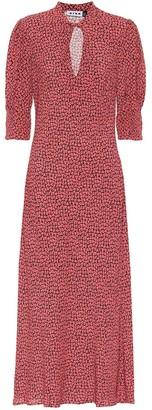 Rixo Isabella printed midi dress