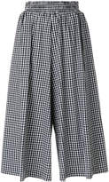 Twin-Set vichy printed culottes