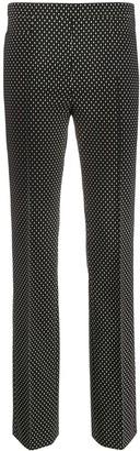 Akris Punto micro-pattern trousers