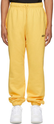 424 Yellow Logo Lounge Pants