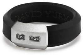David Yurman Hex Sterling Silver Band Ring