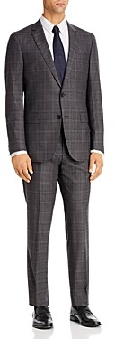 BOSS Novan/Ben Plaid Extra Slim Fit Suit