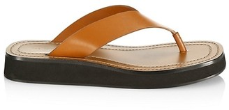 The Row Ginza Leather Thong Sandals