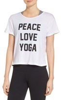 Private Party Women's Peace Love Yoga Tee
