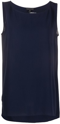 Eileen Fisher Sleeveless Silk Top
