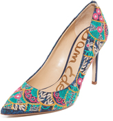 Sam Edelman Hazel Embroidered Pumps