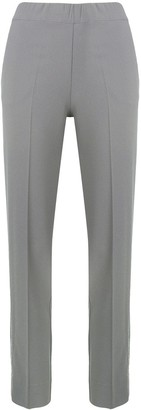 D-Exterior Mid Rise Tailored Trousers