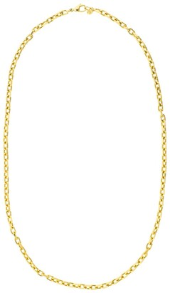 BUDDHA MAMA 20kt Yellow Gold Diamond-Cut Cable Chain