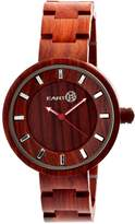 Earth Wood Women's Earth Root Quartz Bracelet Watch, 41mm