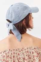 Urban Outfitters Denim Tie-Back Baseball Hat