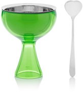 "Alessi Big Love"" Ice Cream Bowl & Spoon"