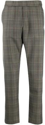 Barena Tartan Drop-Crotch Trousers