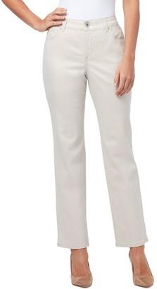 Bandolino Petite Mandie Classic Straight-Leg Jeans