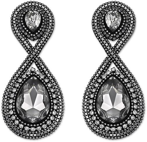 Swarovski Velour Clip Earrings