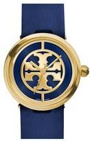 Tory Burch Women's 'Reva' Leather Strap Watch, 36Mm
