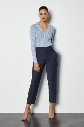 Karen Millen Luxe Wool Blend Suit Trouser