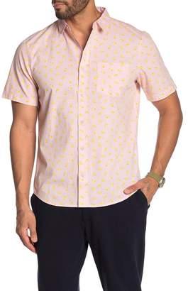 Public Opinion Patterned Short Sleeve Regular Fit Hawaiian Shirt