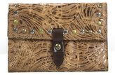Patricia Nash Glazed Floral Collection Studded Colli Wallet