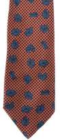 Stefano Ricci Polka Dot & Floral Print Silk Tie