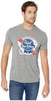 Original Retro Brand The Mocktwist PBR Tee (Mocktwist Grey) Men's T Shirt