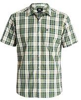 Quiksilver Men's Patman Short Sleeve Plaid Shirt