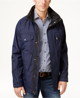 Izod Men's Four-Pocket Raincoat and Windbreaker Jacket