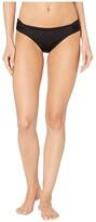 Becca by Rebecca Virtue Black Magic American Fit Bottoms (Black) Women's Swimwear